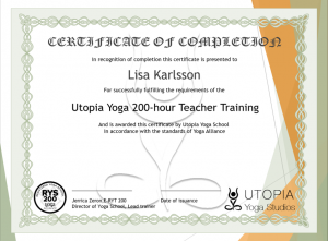 UYA certification