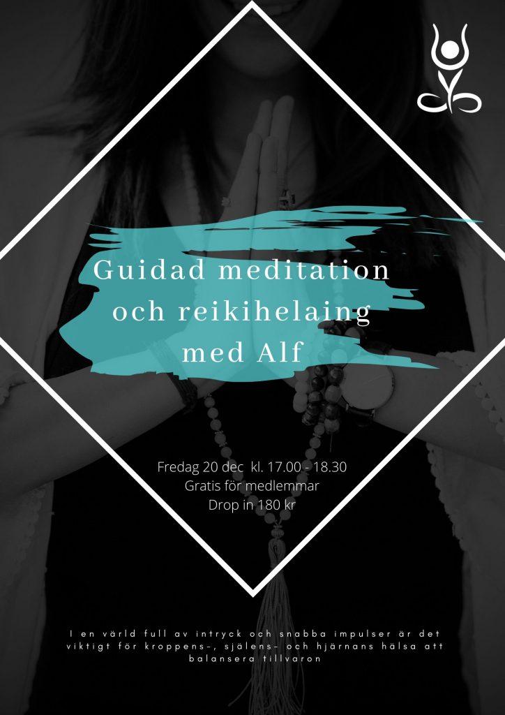 Guidad meditation och reikihelaing med Alf